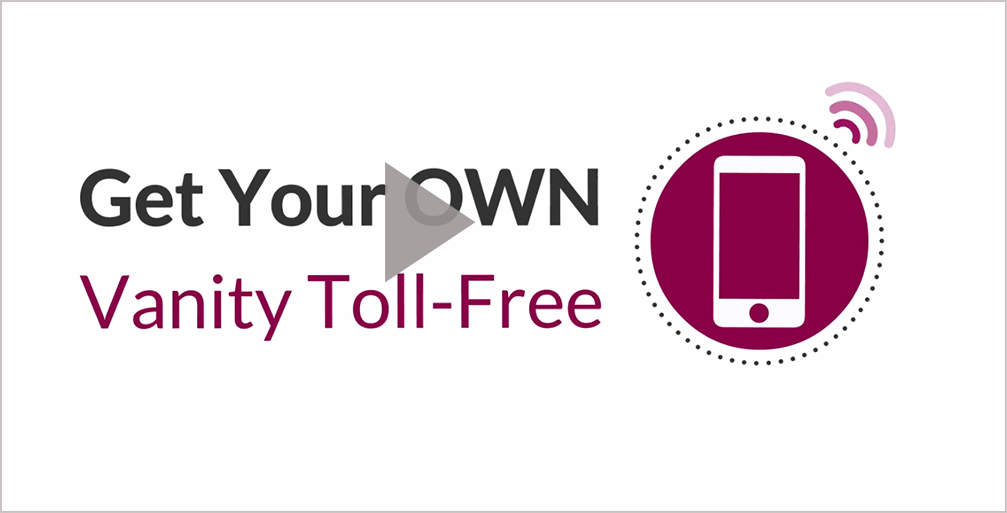 Toll-free 800 number
